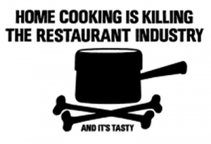 Home Cooking is killing Restaurant Industry